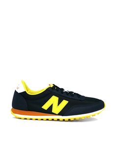 New Balance Blue/Yellow 410 Trainers