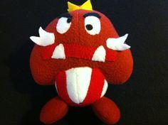 King Goomba Plush by PlayerOneStart on Etsy, $25.00