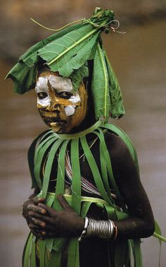 "Africa | ""Natural Fashion"" People of the Omo Valley, Ethiopia 