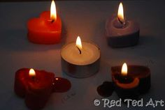 How to DIY candle wicks (now if only the grocery would be able to get some borax in stock)