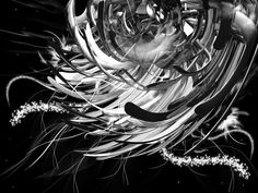 silver artwork   Abstract in Silver by ~kristarella on deviantART