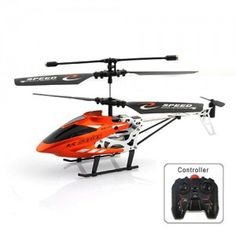 2.5 Channel 2.5CH Scale IR Helicopter & Infrared R/C Remote Control Helicopter - Red