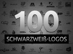 100+ Inspirierende Schwarzweiß-Logodesigns