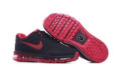 Nike Air Max 2017 Leather Men's Running Shoe Black Red https://twitter.com/gmsingin1/status/915364876633042945