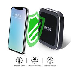 Wireless Charger for iPhone Samsung Phones @ November 21 2019 at Best Amazon, Amazon Deals, Amazon Tribe, Iphone Deals, Buy Phones, Iphone Hacks, Wireless Charging Pad, Discount Deals, Gold Box