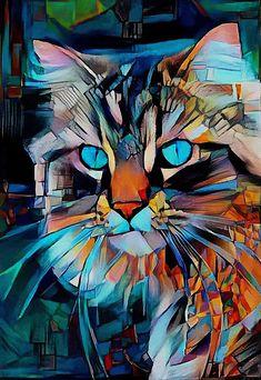 Wildlife Paintings, Animal Paintings, Portraits Pop Art, Wine Painting, Call Art, Sea Art, Art Drawings Sketches Simple, Art Et Illustration, Arte Pop