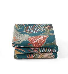 Belle en lin rouge baies noël papier 33cm square déjeuner serviettes 20 en pack