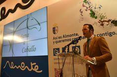 Gregorio Camacho presentación Doñana a Caballo #RocíoJubilar #Fitur2013