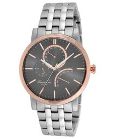 Kenneth Cole New York Watch, Men's Stainless Steel Bracelet 44mm KC9260