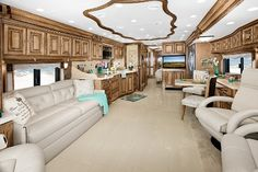 tour bus and rv interior images | ... Something's different on Tiffin Motorhomes' 2012 Allegro Bus