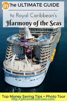 Get a cruise for half price or even for free! Real deal! Watch the video in the profile for more details. EVERYTHING you NEED to know about Royal Caribbeans NEWEST and LARGEST ship- the Harmony of the Seas