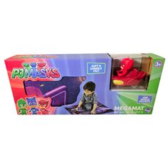 PJ Masks Kids Megamat Felt Play Mat and Vehicle - Walmart.com - Walmart.com Mask For Kids, Masks Kids, Carters Baby Girl, Baby Girls, Felt Play Mat, Christmas Gifts For Boys, Pj Mask, Homemade Toys, Baby Diaper Bags
