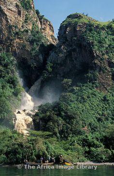 Nkusi Falls on Lake Albert can be visited from Semliki Wildlife Reserve, Uganda