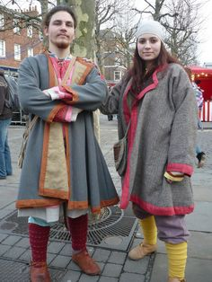 Birka based viking kaftans by ~Symbelmune on deviantART