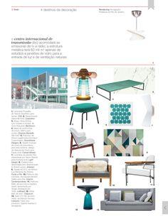 Revista Bamboo outubro 2015 //  Puff Era de linha Era, design por Simon Legald // Normann Copenhagen @Scandinavia Designs