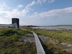 Artist retreat by architect Todd Saunders. Fogo Island, Newfoundland Canada. Photo: Mads Mogensen