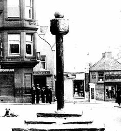 The Mercat Cross, The Square, Cumnock.