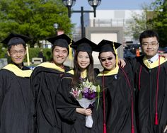 Team Firework at UMSI graduation: (from left) Fan Guo, Ian Lin, Sylvia Lai, Varoot Phasuthadol, Hao Zeng. Thanks Hao for the ID!
