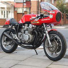 1972-Honda-CB750-Genuine-Dave-Degans-Framed-Dresda-Classic-Vintage-Rare Moto Cafe, Cafe Bike, Cafe Racer Bikes, Cafe Racers, Cb750 Honda, Honda Motorcycles, Ducati, Cafe Racer Motorcycle, Motorcycle Clubs