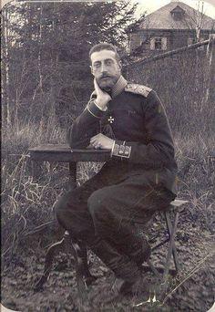Grand Duke Konstantin Konstantinovich Romanov of Russia.