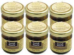 Whole White Truffle in Brine by Tentazioni Case of 6  44 Ounce Jars * Amazon most trusted e-retailer #GourmetProduce