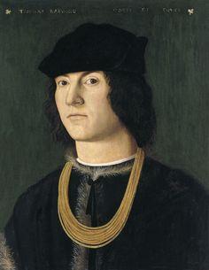 ab. 1500 Amico Aspertini - Portrait of Tommaso Raimondi