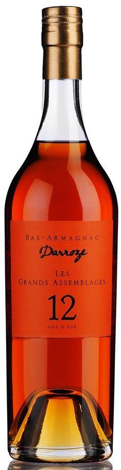 "Armagnac ""Darroze 12 Ans Bas Armagnac"" - Bas Armagnac Francis Darroze, Francia"