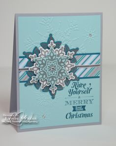 LW Designs: First Festive Flurry