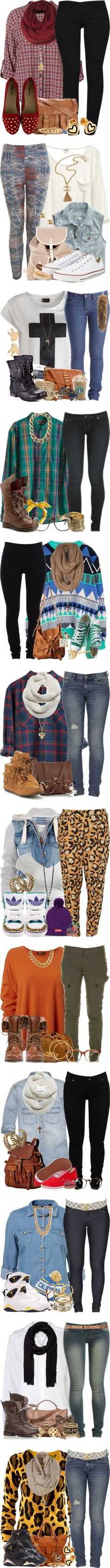 """""""Fall/Winter 2"""" by jasminesanders-anon ❤ liked on Polyvore"""