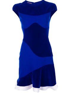 ALEXANDER MCQUEEN Patterned Dress