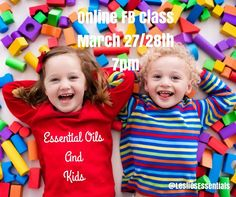 Next week's online FB class is all about the kiddos  JOIN us for an ESSENTIAL OILS AND KIDS ONLINE FACEBOOK CLASS.  Show up in your pajamas or yoga pants on your phone or computer on:  Monday and Tuesday March 27/28 at 7pm  It's a GO-AT-YOUR-OWN-PACE class which will be available for you to attend for  5. DAYS.  Learn about NATURAL HEALTH and WELLNESS and how Essential Oils can provide them for the children in your life.  Youll have lots of fun learning about using Essential Oils and their…