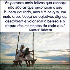 """""""Não Te Esqueças de Mim""""  -Presidente Dieter F. Uchtdorf   #SUD #LDS Português"""