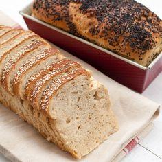 1 kaka 63 g havregryn (ca 2 dl) 2 White Bread, Banana Bread, Homemade, Breakfast, Desserts, Morning Coffee, Tailgate Desserts, Deserts, Home Made