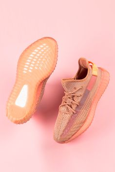 "A North America-only release of the adidas Yeezy Boost 350 ""Clay"" adds to the mystique of the earthy colorway. The regional release was one of three country-specific Yeezy Boost 350 to drop in March Best Sneakers, Sneakers Fashion, Fashion Shoes, Yeezy Sneakers, Zapatillas Nike Jordan, Yeezy Outfit, Colorful Heels, Hype Shoes, Pink Shoes"