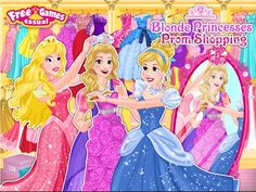 Princesa Rubia de Baile Compras - Juegos de Moda