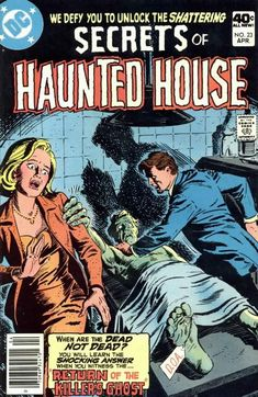 Cover for Secrets of Haunted House (DC, 1975 series) #23