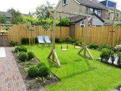 Een tuin om te spelen en te relaxen!