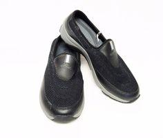 Vionic Orthoheel Heritage Athletic Slip On Clogs Shoes 7M/38 Black Active Comfy #VionicByOrthoheel #ComfortWalkingSportClogs
