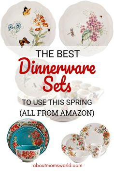 Spring is my favorite season! Aside from the fact that winter is over, it feels like having a new life. 😊 The sun is out, the weather is nice, flowers are … Best Dinnerware Sets To Use This Spring Read Porcelain Dinnerware, Dinnerware Sets, Kitchen Organization Pantry, Organization Ideas, Red Cherry Blossom, Beautiful Table Settings, Salad Plates, Fine Porcelain, Mom Blogs