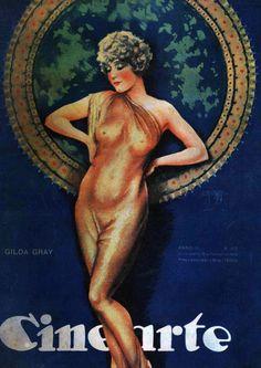 GILDA GRAY - (CINEARTE, February 15, 1928, Rio de Janeiro, Brazil)
