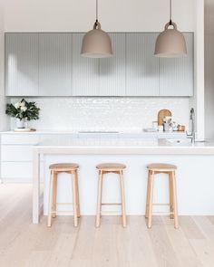 Furniture Nice 50 Minimalist Bar Stool Ideas for Small Kitchen Bar - Having a kitchen with a small b Home Decor Kitchen, Interior Design Kitchen, Home Kitchens, Nordic Kitchen, Custom Kitchens, Kitchen Ideas, Minimalist Home Decor, Minimalist Kitchen, Minimalist Bathroom