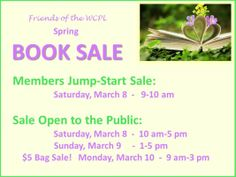 Friends of the Williamson County Public Library spring 2014 book sale