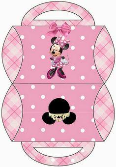 Caja almohada, Minnie.