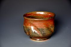 Tea Cup Stoneware Pottery B by darshanpottery on Etsy, $19.95