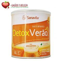 O Verão é sinal de Saúde alegria e felicidade por isso apresentamos o DetoxVerão da Sanavita, um produto ideal para curtir o Sol com o Máximo de Sáude e benefícios.  DetoxVerão é um super nutricomplex detoxificante á base de laranja, cenoura, manga, acerola, gengibre e polidextrose com betacaroteno. http://www.maissaudeebeleza.com.br/p/5/detoxverao?utm_source=pinterest&utm_medium=link&utm_campaign=DetoxVer%C3%A3o&utm_content=post