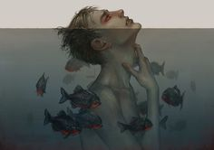 Emotional overload by len-yan > ❤️ this http://www.deviantart.com/art/emotional-overload-553904180?utm_content=buffere3b82&utm_medium=social&utm_source=pinterest.com&utm_campaign=buffer #illustration #emotion #art