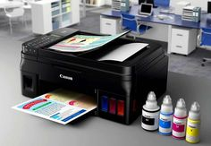 Canon G-Series MegaTank Printers Use Refillable Ink Tanks Not Cartridges