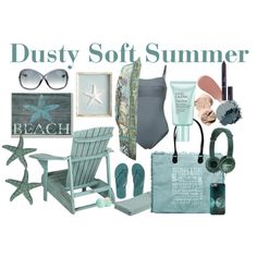 Dusty Soft Summer by prettyyourworld on Polyvore featuring Camilla, Malia Mills, Aéropostale, Vintage Addiction, Tom Ford, Bobbi Brown Cosmetics, Burberry, Christian Dior, Eos and Estée Lauder
