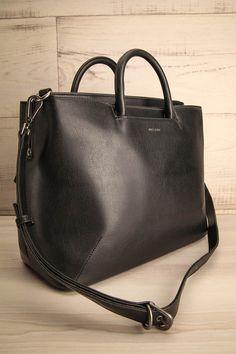 Kintla - Black Matt & Nat handbag