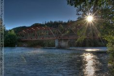 The beautiful Kitamat River just outside of Terrace, #BC #Travel